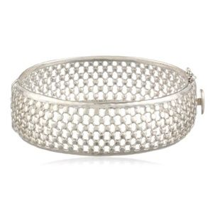 Judith Jack Swarovski Large Bangle Bracelet
