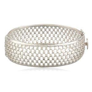 Judith Jack Swarovski Large Bangle Bracelet