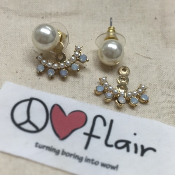 Peace love flair Jewelry - Miranda Earring jacket
