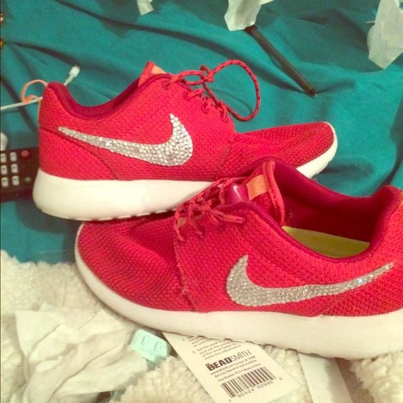 Nike Shoes Bedazzled Roshe Poshmark