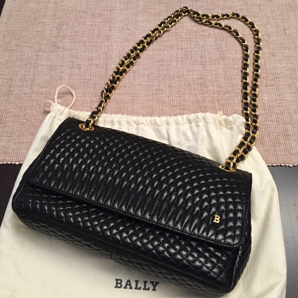 BALLY quilted leather handbag