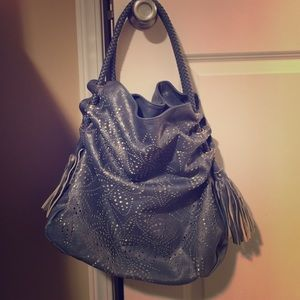Leather like tote