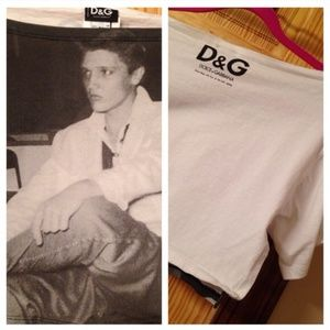 NEW Dolce & Gabbana Elvis Top.