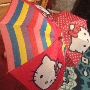 Hello kitty umbrellas