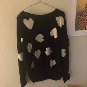 urban outfitters heart sweater