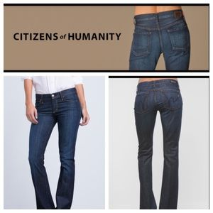 "CITIZENS OF HUMANITY ""KELLY"" DENIMS.   NWOT"