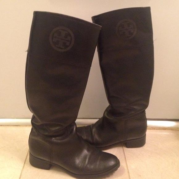 14b93b51a new zealand tory burch jackson riding boot in black 2fd41 29d04