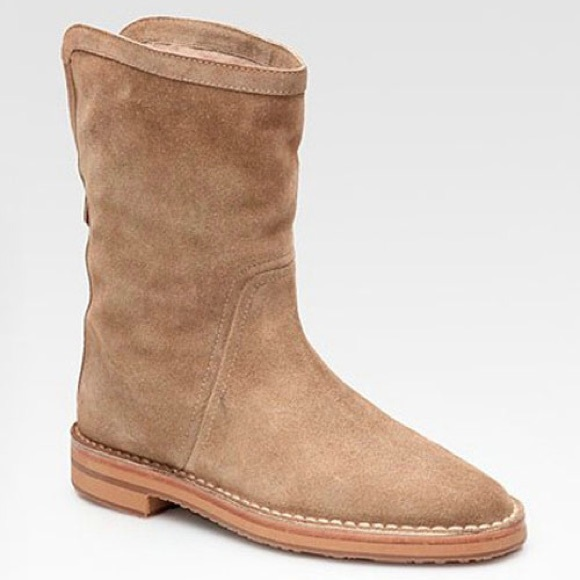 Jimmy Choo Suede Shearling-Lined Boots supply cheap price discounts sale online cheap sale wide range of outlet find great 5X56lufmhO