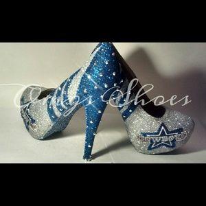 Dallas Cowboys Air Force Ones Shoes