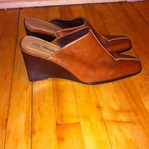 highlights Shoes - Brown mules