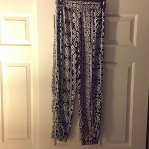 Ambiance Apparel Pants - Tribal Print Pants