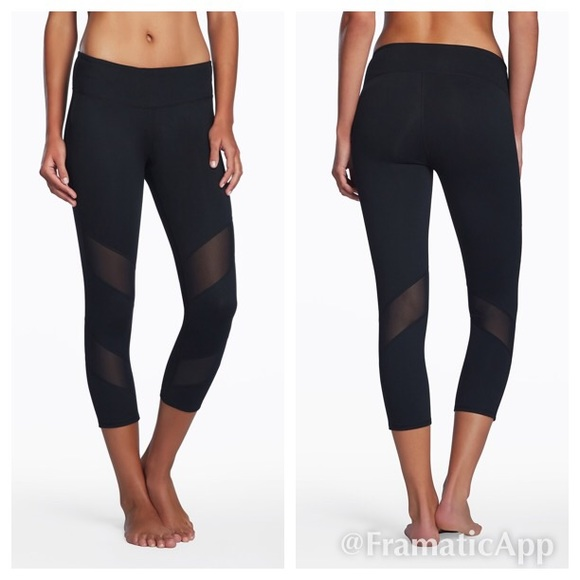 Mesh Cutout Workout Leggings - Trendy Clothes