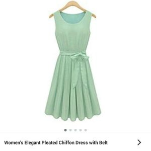 Dresses & Skirts - Mint green dress