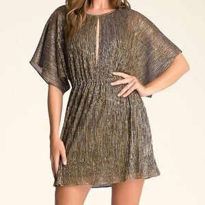 Bebe Metallic Dress