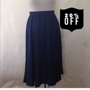 Dresses & Skirts - Navy Blue Skirt