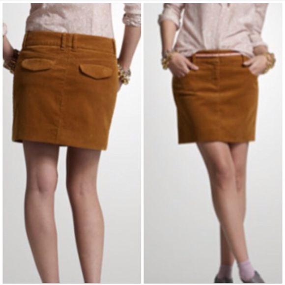9859bd761 J. Crew Skirts | Jcrew Tan Corduroy Mini Skirt | Poshmark