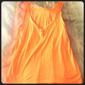 American eagle coral tank top