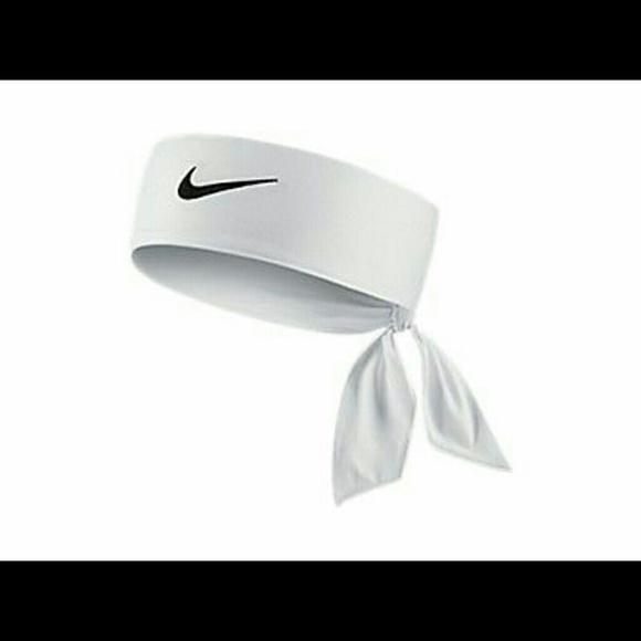 Hvit Nike Pannebånd Som Tie I Ryggen QycHASgG