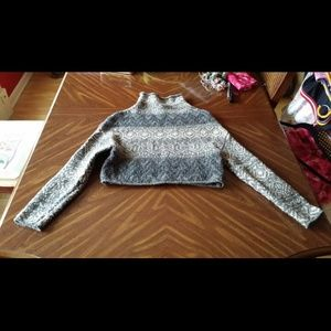Vince. Cropped sweater size small