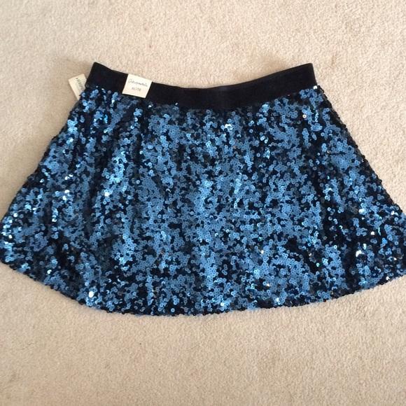 63 aeropostale dresses skirts blue sequin skirt