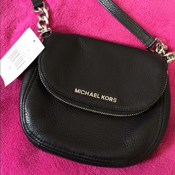 best site choose original 100% top quality Michael Kors Bedford Small Flap Leather Crossbody✨ NWT