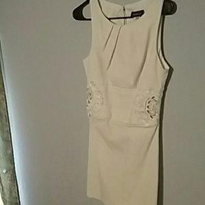 Beige Dillard dress