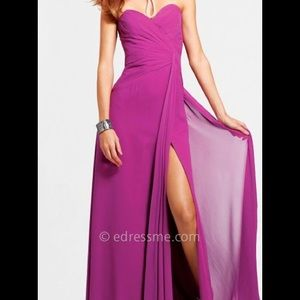 Faviana Couture prom/evening gown