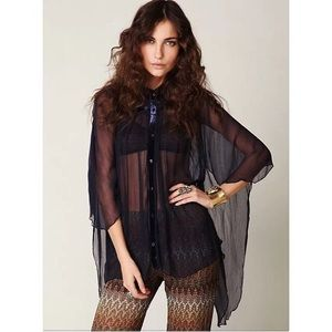 Free People Tops - Free People Romantics blouse