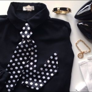 Accessories - FINAL PRICE  retro polkadot tie