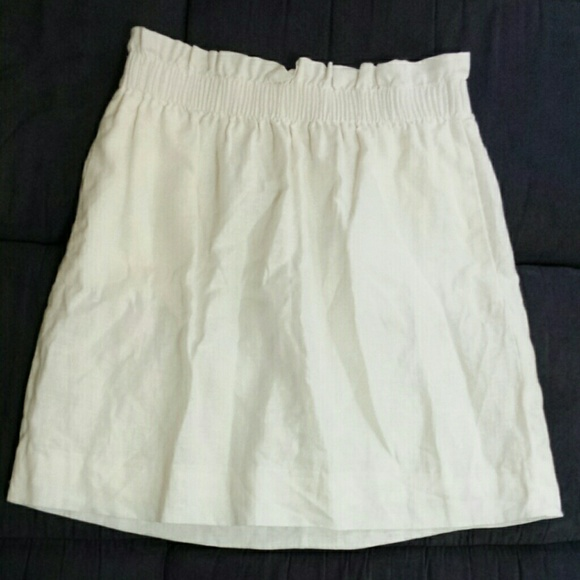 J. Crew Dresses & Skirts - Linen mini skirt