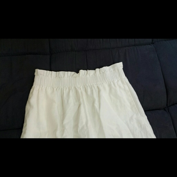 J. Crew Skirts - Linen mini skirt