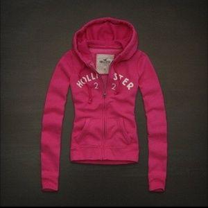 Hollister Sweatjacke Damen Pink