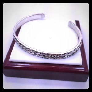  Authentic David Yurman silver cuff 