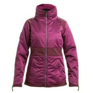 Magenta Oakley Ski Coat
