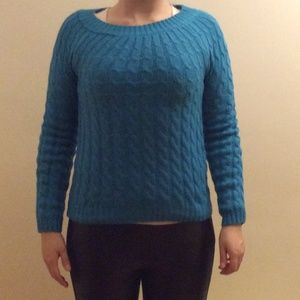 Turquoise Cute Cozy Sweater