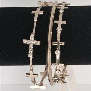 Jewelry - Cross bangles