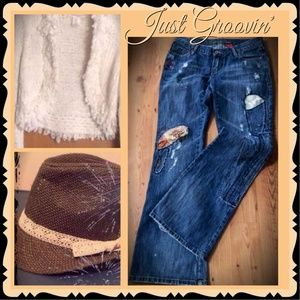 HP CASUAL COOL❤️VANILLA BOHO JEANS GET THE OUTFIT!