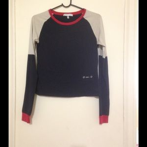 See by chloe multi-color long sleeve t-shirt