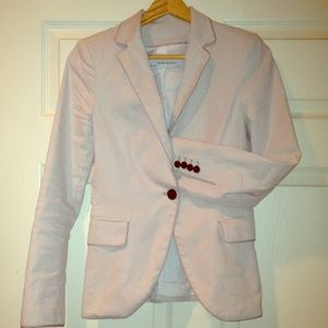 Zara Jackets & Blazers - Beige Zara Blazer made in Spain