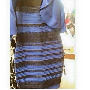 Blue and black dress...or is it gold and white?
