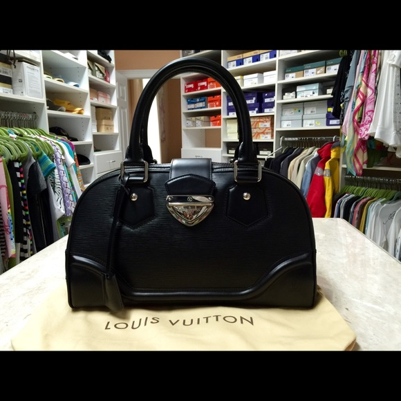 Louis Vuitton Bowling Montaigne GM 0d232ed64cab4