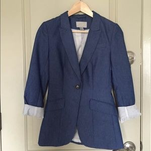 H&m denim blazer