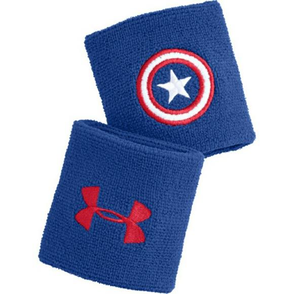 6e9e7a48680 Captain America wrist bands