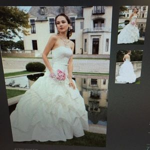 Size 2 New Wedding Dress