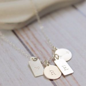 Reserved Personalized Tags Necklace