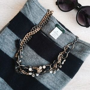 J. Crew Jewelry - JCrew Luxe Mixed Metal Necklace