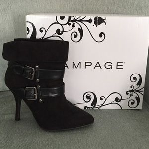 Rampage booties/ankle boots