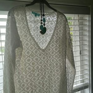 Melissa Odabash Tops - Beautiful lightweight tunic top nwot
