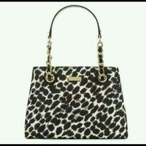 kate spade Handbags - Animal Print Kate Spade Shoulder Bag