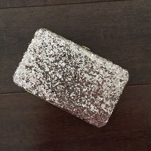 Rose Pink glitter small wallet